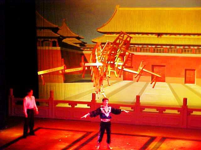 Shanghai Circus - Acrobatic Show - Acrobats - Shanhai Huxi Theater - Shanghai, China