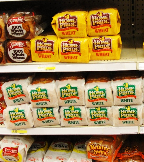 Home Pride Bread - Buttertop Wheat - Bread on the Shelf - Return of Home Pride - Chicago - Milwaukee - Aunt Millie's