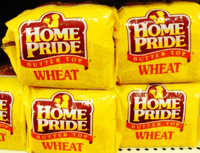 Home Pride Wheat - Butter Top Bread - Flowers Foods - Home Pride is Back - Wheat Bread