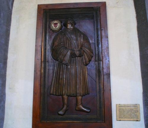 Luther grabplatte - St. Michael Church, Jena, German - Lucas Cranach - Henry Zeigler - Reformation Day
