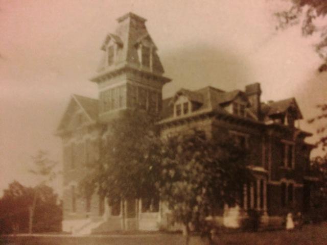 Harper Mansion - Ottumwa, Iowa - 908 North Court - Midwestern School of Evangelism - W.T. Harper
