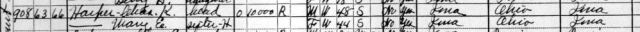 1930 Census - Harper Mansion - 908 North Court, Ottumwa, Iowa