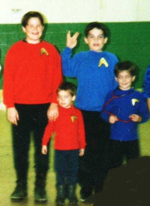 Nerd Party - Costume Party - Star Trek Costumes - Halloween Costumes