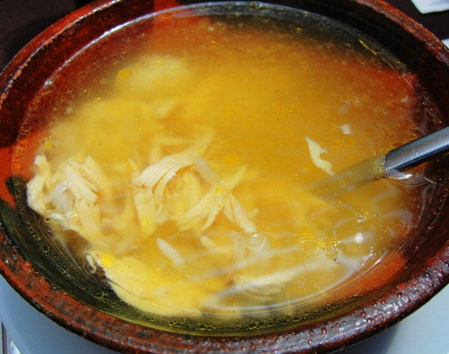 Chicken Soup - Shredded Chicken - Polla Sopa - Coyoacan