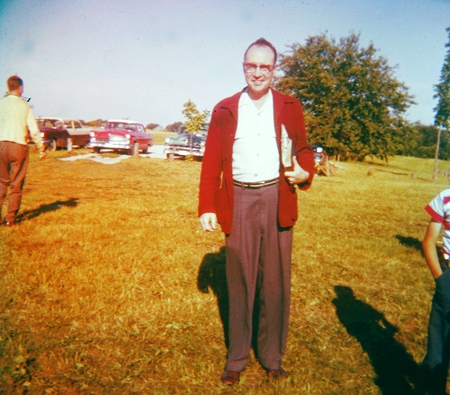 Preacher Man - Camp Keomah - Red Sweater - Memories - Family Friends