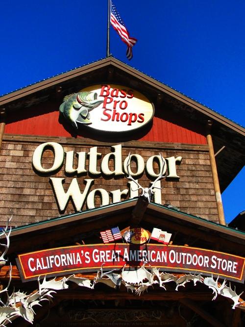 Bass Pro Shops - Outdoor World - California's Great American Outdoor Store - Manteca, California
