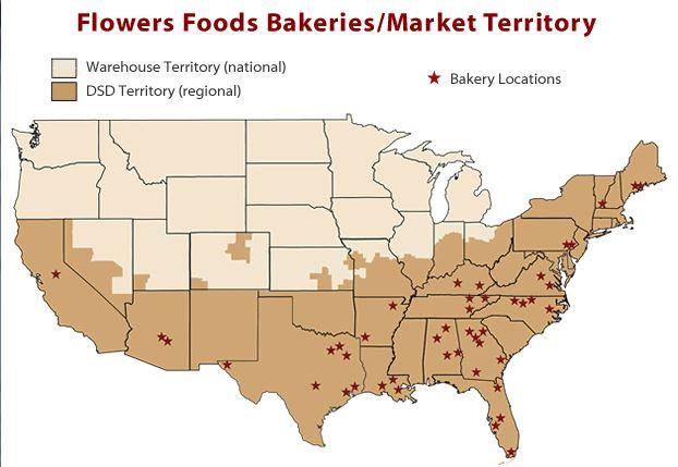 Flowers Foods Territory - November 2013 - www.flowersfoods.com - Home Pride Bread