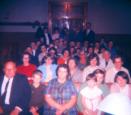 Frytown Church of Christ - Frytown, Iowa  - Centenniel - Church is the People - Congregation