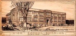 Hamburg High School - Hamburg, Iowa - High School Building - Architectural Drawing - Dougher, Rich & Woodburn Architects