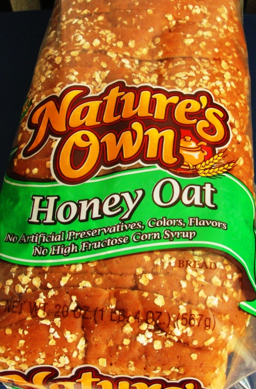 Nature's Own Honey Oat - New Bread - Flowers Foods - Home Pride Wheat