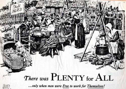 Plenty for All - Thanksgiving 1623 - Leftovers - Black Friday