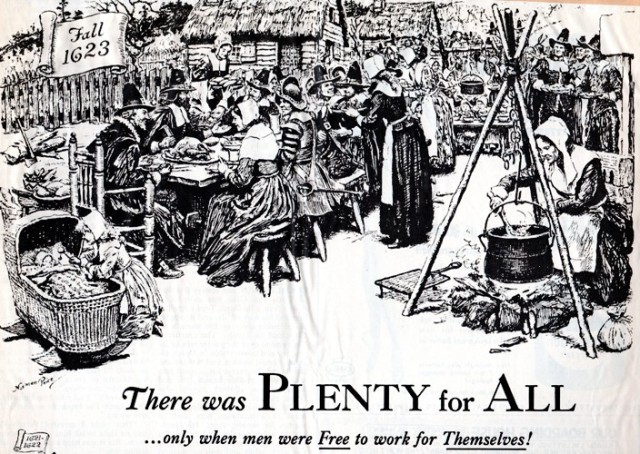 Plenty for All - Thanksgiving 1623 - Leftovers - Black Friday