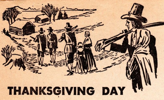 Thanksgiving Day - Pilgrims - Feast - Plymouth Plantation - Plymouth Colony