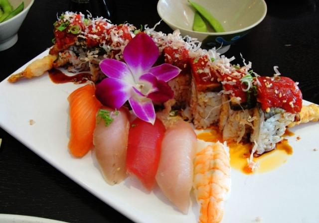 Red Dragon Roll - Sushi Roll - Sushi - Yanagi Sushi - Japanese Food