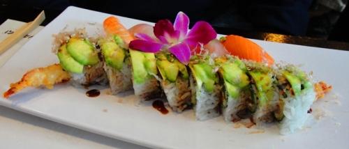 Caterpillar Roll - Sushi Roll - Sushi - Yanagi Sushi - Japanese Food