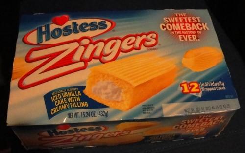 Hostess Zingers - Snack Cakes - Return of the Zinger - Hostess