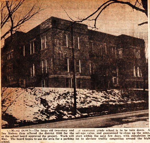 Hamburg, Iowa - Old Grade School - 1958 - Memories of Grade School