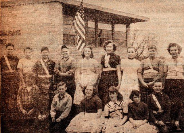 Marnie Simons Grade School - Hamburg, Iowa - Safety Patrol - Grade Schools