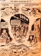 Frank Andrea Miller - Editorial Cartoon - Blizzard of '59 - Snowstorm - Des Moines Register