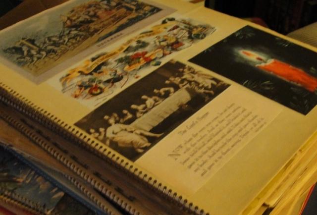 Grandma's Scrapbooks - Collections - Memories - Scrapbook