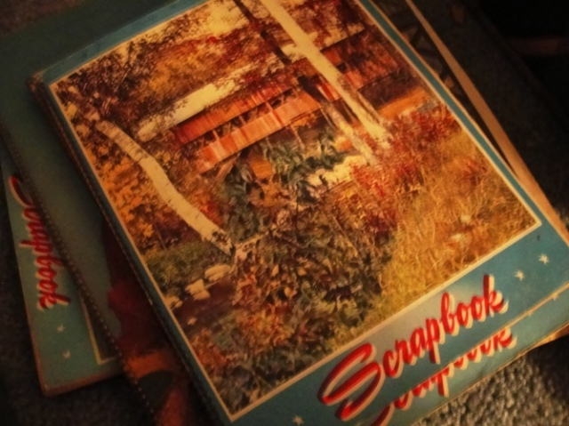 Scrapbooks - Spiral Bound Scrapbooks - Grandma's Memories - Clippings