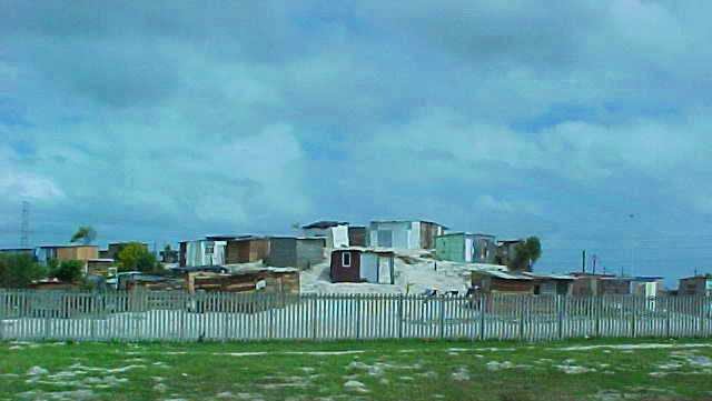 Shanty Town in Capetown, South Africa - Nelson Mandela - Slums