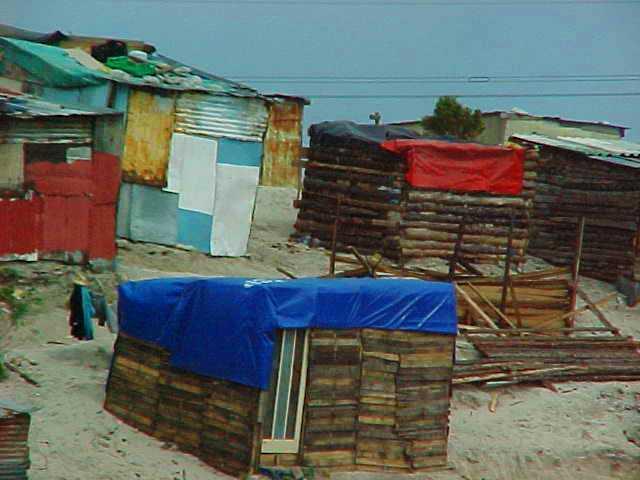 Shanty Town - Slums - Capetown, South Africa - Mandela - Apartheid