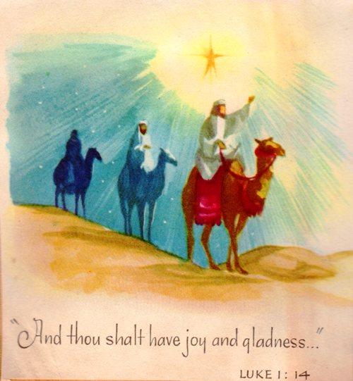 Three Wise Men - The Three Magi - Melchior, Gaspar and Balthazar - Wise Men - Orient