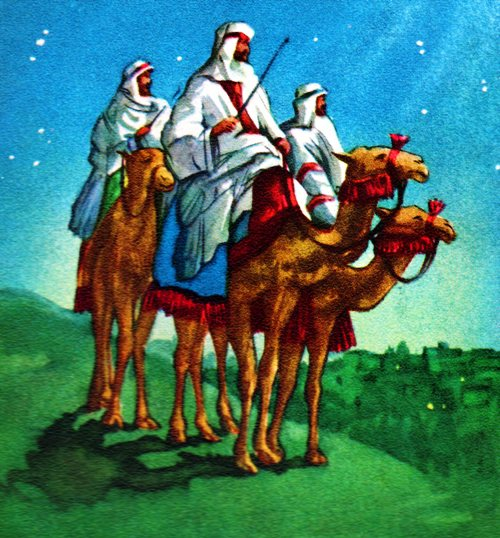 Three Wise Men - The Three Magi - Melchior, Gaspar and Balthazar - Wise Men - Orient