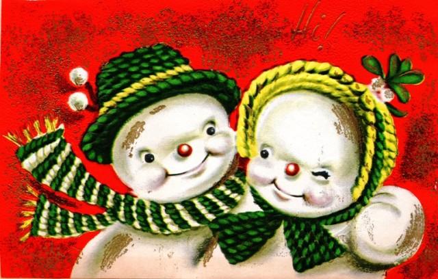 Showmen - Holiday Card - Christmas Card - Classic Christmas Card