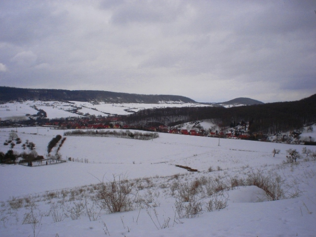 Jena, Germany - Snowy Day - Hills and Valleys - Jenzig - Wogau
