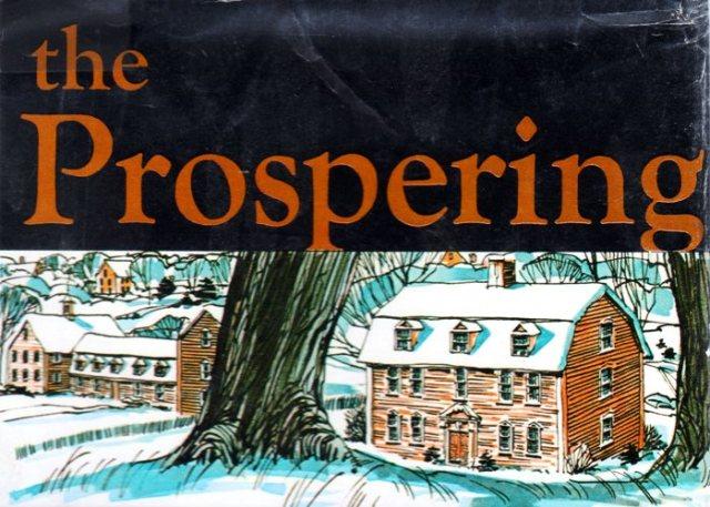 The Prospering - Elizabeth George Speare - Stockbridge, Massachusetts - Ephraim Williams - Indian Mission - History - Family History