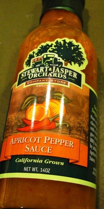 Apricot Pepper Sauce - Stewart and Jasper - Newman, California - Pepper Sauce