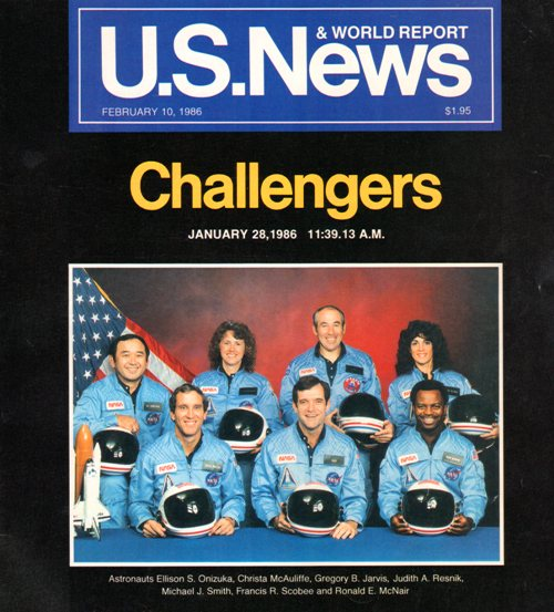 U. S. News and World Report - Challenger Tragedy - Memories