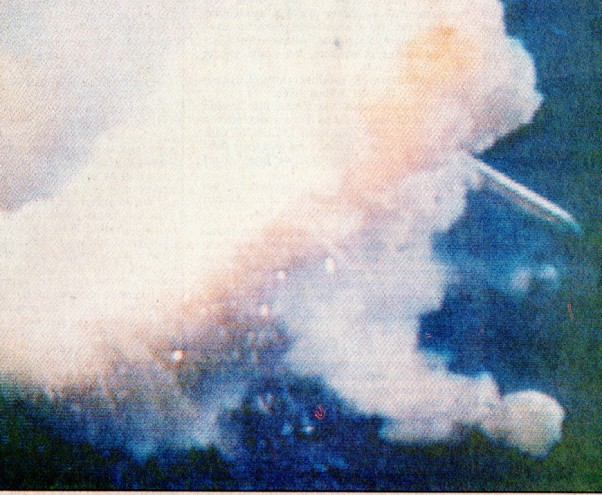 Space Shuttle Challenger Explosion - Dallas Times Herald - CBS News - Memories - Newspaper Clippings