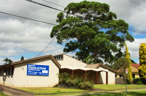 Macquarie Church of Christ - North Ryde, NSW, Australia - Large tree