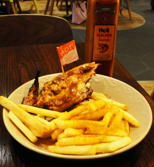 how to cook chicken in nandos sauce
