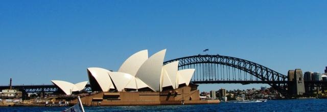 Sydney Harbour - February 2014 - Winter Olympics Sochi - Winter Olympics in Summer