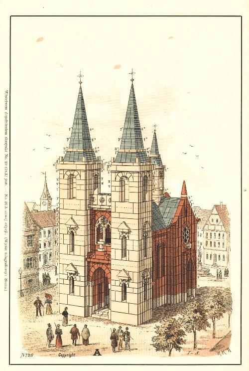 Votive Church - Ankerstein - Anchor Blocks - NF20 - Building Blocks