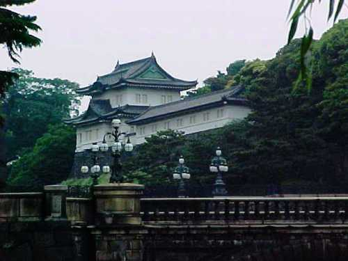 Imperial Palace - Tokyo - Old Digital Pictures - Japanese Architecture