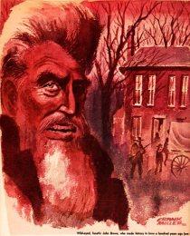 John Brown - Frank Andrea Miller - Editorial Cartoonist - John Brown in Iowa - Iowa in the Civil War