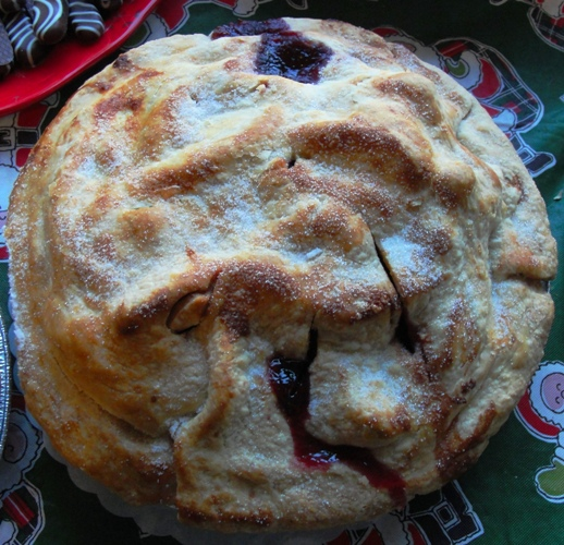 Apple Berry Pie - Pi Day - 3.14159
