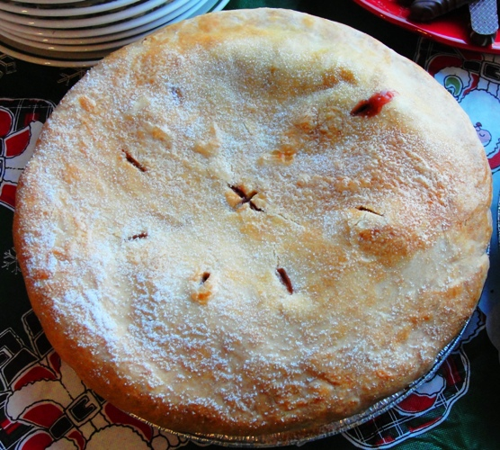 Strawberry Rhubarb Pie - Pi Day - March 14 - 3.14 - Nerd holidays