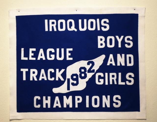 Iroquois League Champions - Track Banner - League Champion Banner - Memories