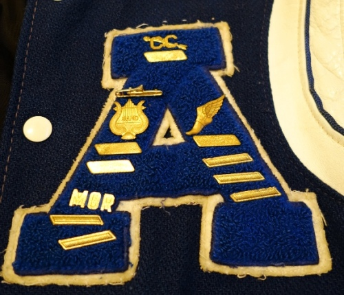 Letter Jacket - Block A - Ashland - Track and Field - Cross Country - Band