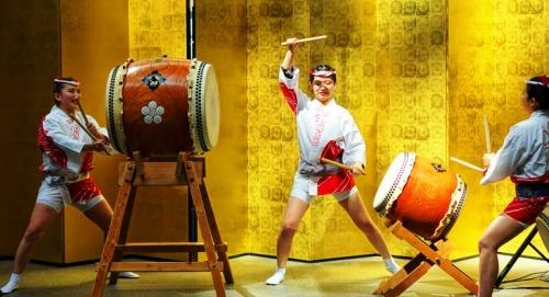 Japanese Drums - Taiko - bachi - kumi-daiko - hachimaki