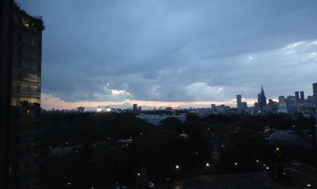 Sunset - Tokyo - Shinjuku - Fuji-san - Mount Fuji