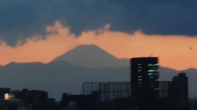 Mount Fuji - Sunset - Fuji-san Sunset - Tokyo, Japan