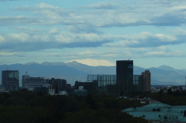 Fuji-san, Mount Fuji, Fuji from Tokyo, Fuji under clouds