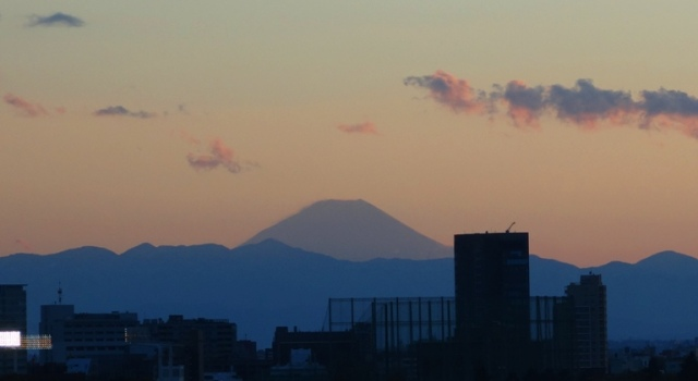 Mount Fuji Sunset - Fuji-san - Fuji from Tokyo - Volcano